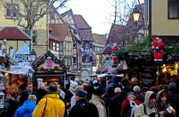 Christmas Colmar France Alsace Region