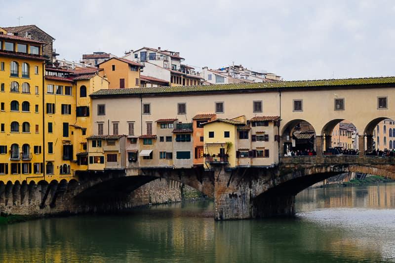 Ponte Vecchio Bridge Florence Italy travel guide