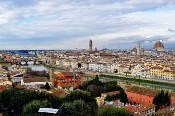 View from Piazzale Michelangelo Florence Italy best view
