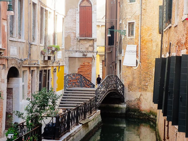 Canal Venice Italy off the beaten path