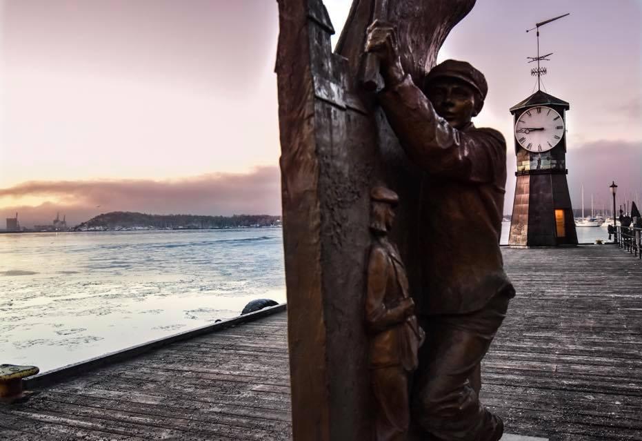 itinerario a piedi oslo statue