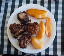 Cyprus Prodromos food lunch meat souvla