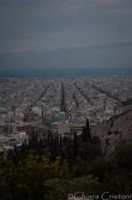 View of Athens from Philopappou hill