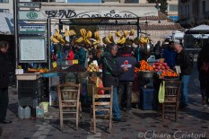Fruit stall in Monastiraki square