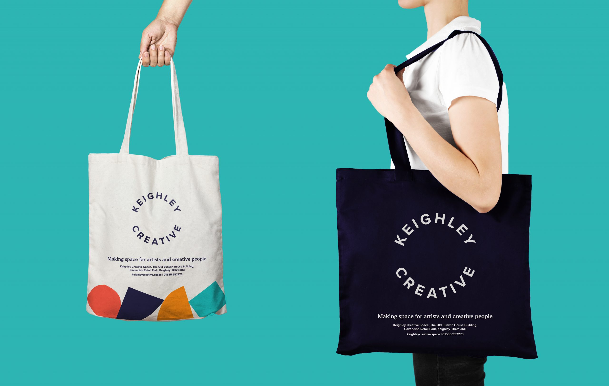 Keighley Creative - Tote bag design