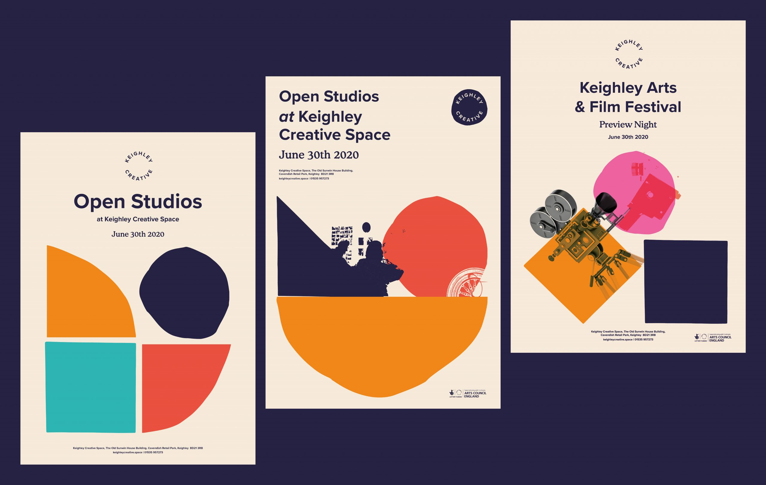 Keighley Creative - Handmade poster designs