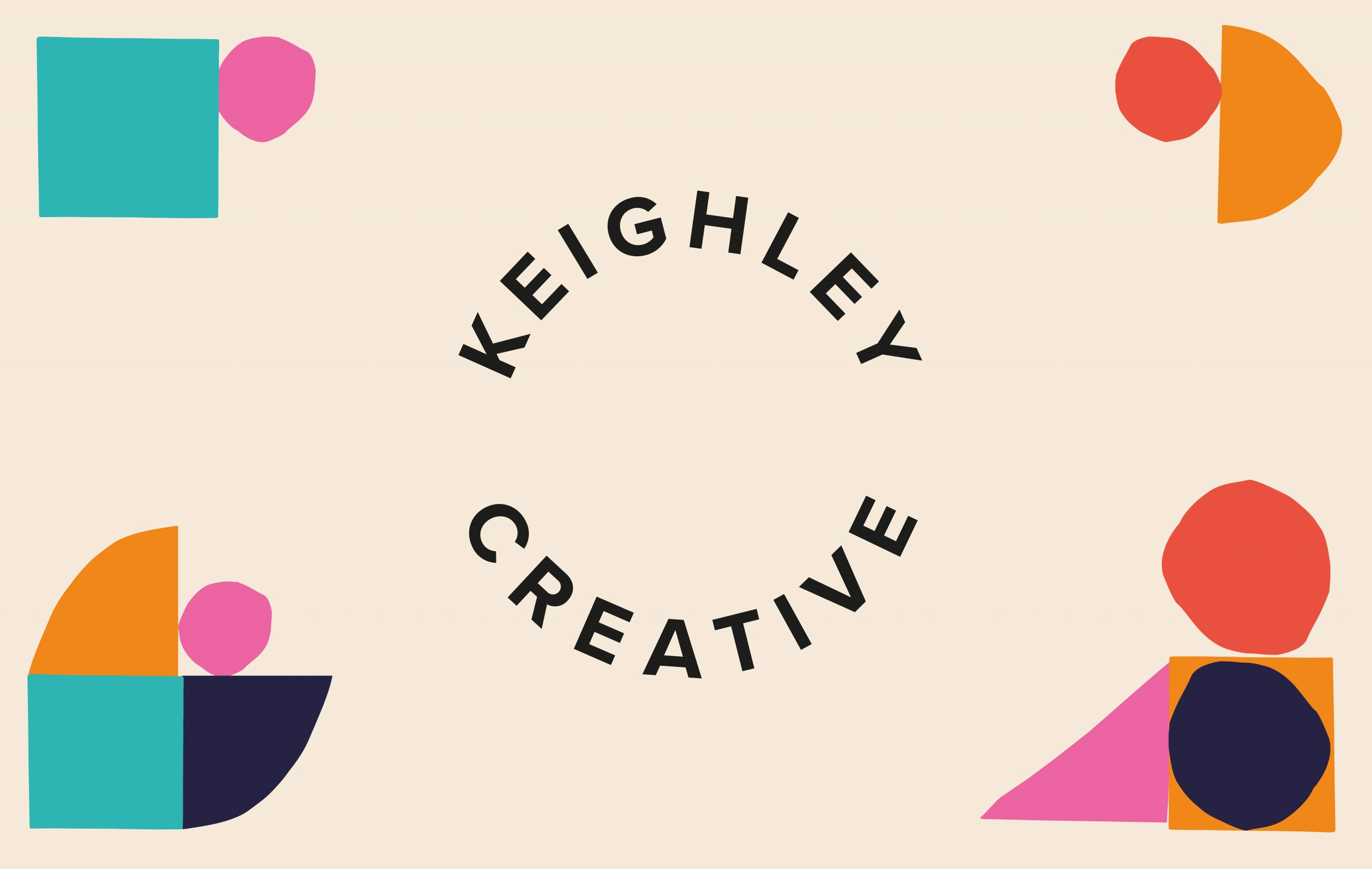 Keighley Creative logo and brand design