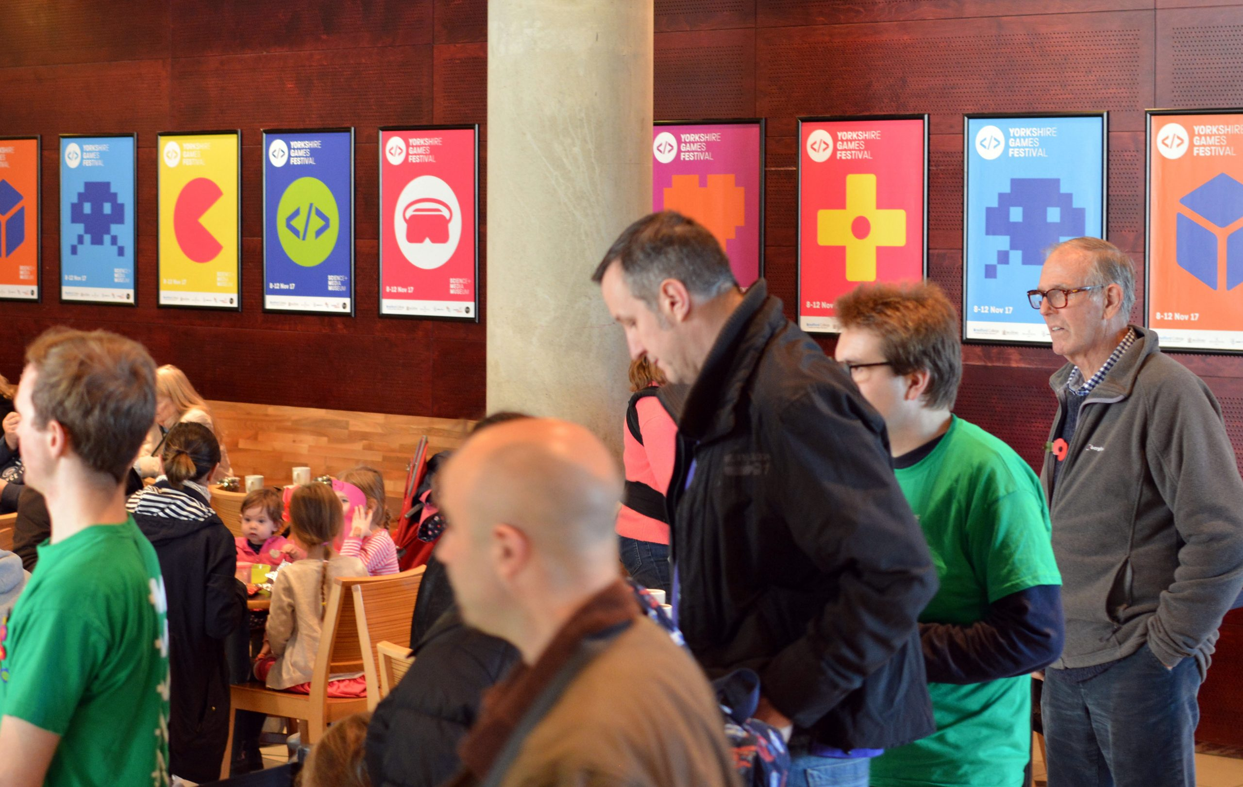 Yorkshire Games Festival Poster Designs