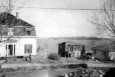 7 Merrill after the Jones Cottage came down, 1956