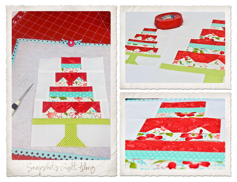 Snapshots Quilt-Along Mini Quilt Block 1