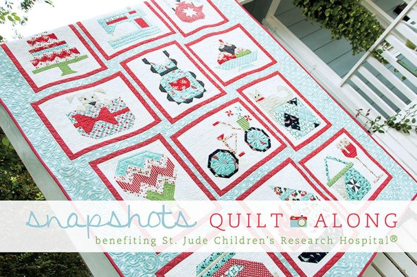 Snapshots Quilt-Along from the Fat Quarter Shop