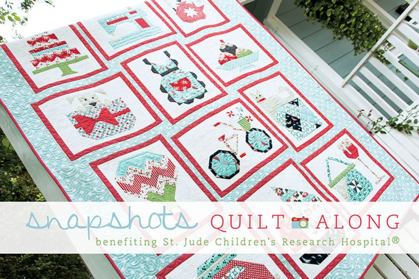 Snapshots Quilt-Along from the Fat Quarter Shop
