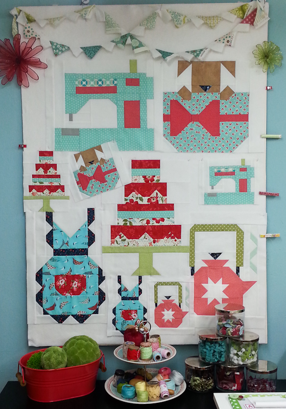 Snapshots Quilt Along Mini Quilt Block 6 │Out of the Blue Quilts