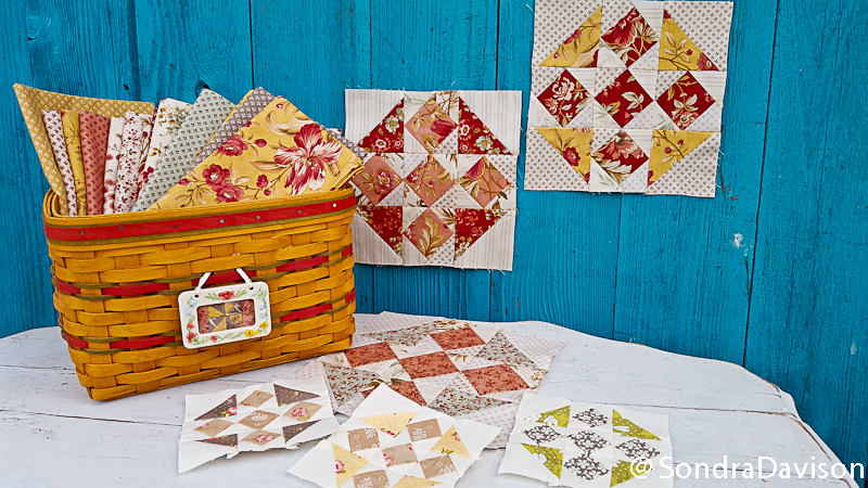 Crossroads Quilt Along Diamond Block │ Out of the Blue Quilts by Sondra Davison (4)