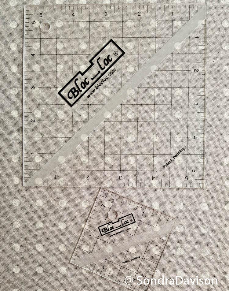 Patchwork Quilt Along Using Bloc Loc