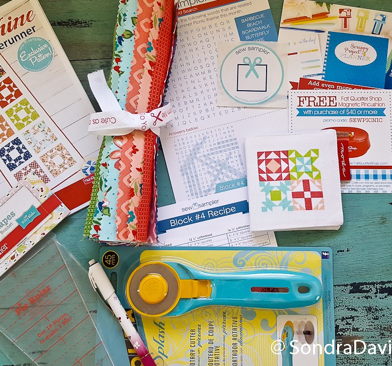 FQS Sew Sampler Box