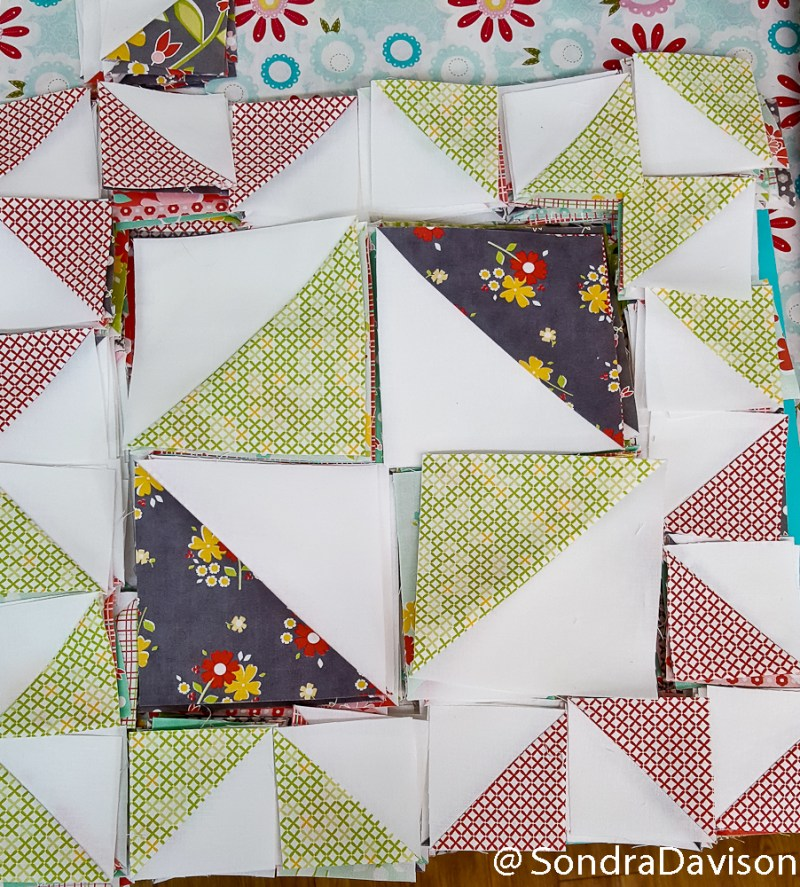 Cake Mix Taffy Quilt │ Out of the Blue Quilts