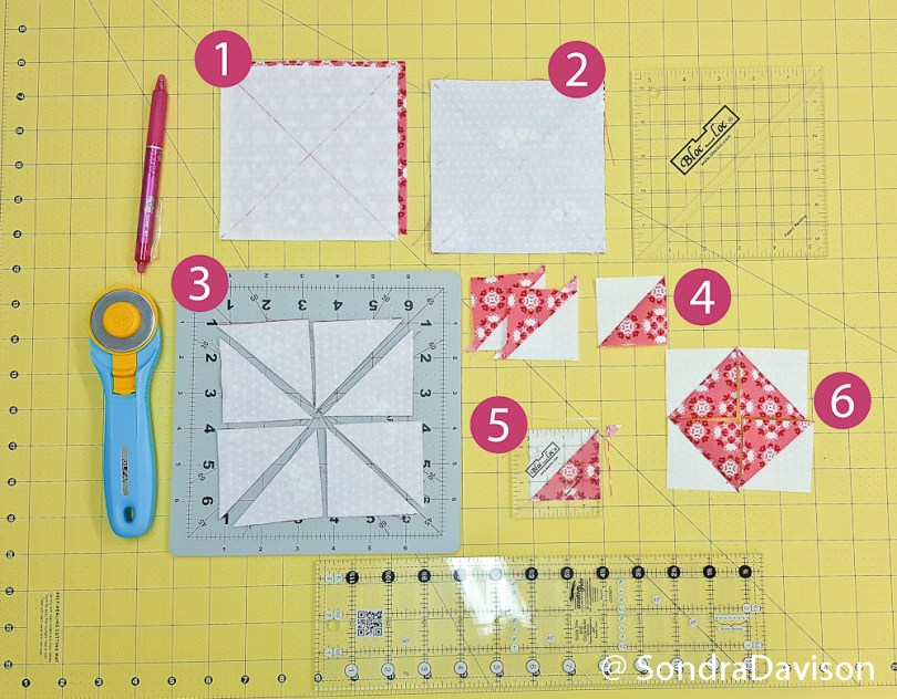 2018 Clementine QAL Block 5 │ Out of the Blue Quilts