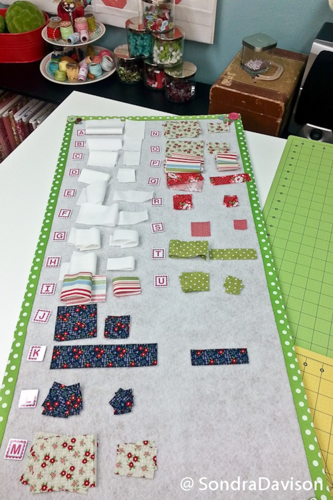 Block Design Board Tutorial │ Out of the Blue Quilts