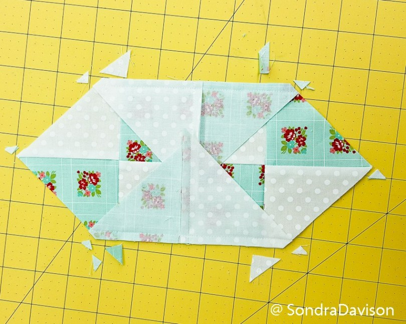 Threadology Block 3 │ Out of the Blue Quilts