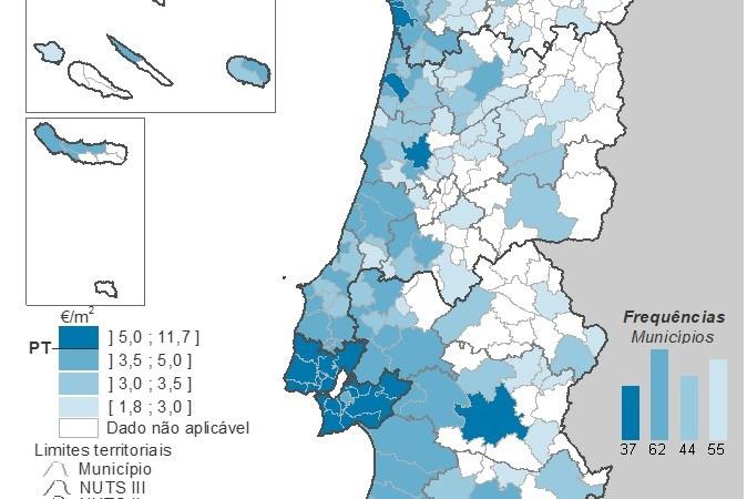 Rendas de casas em Portugal sobem 9,2%