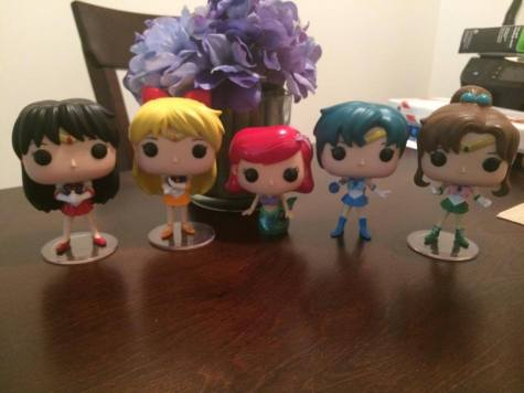 The Sailor Scouts and Ariel