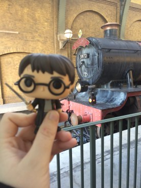 The front of the Hogwarts Express!