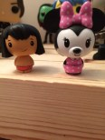Mowgli and Minnie Mouse