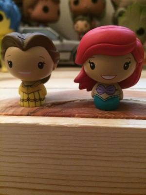 Belle and Ariel loving being mini!