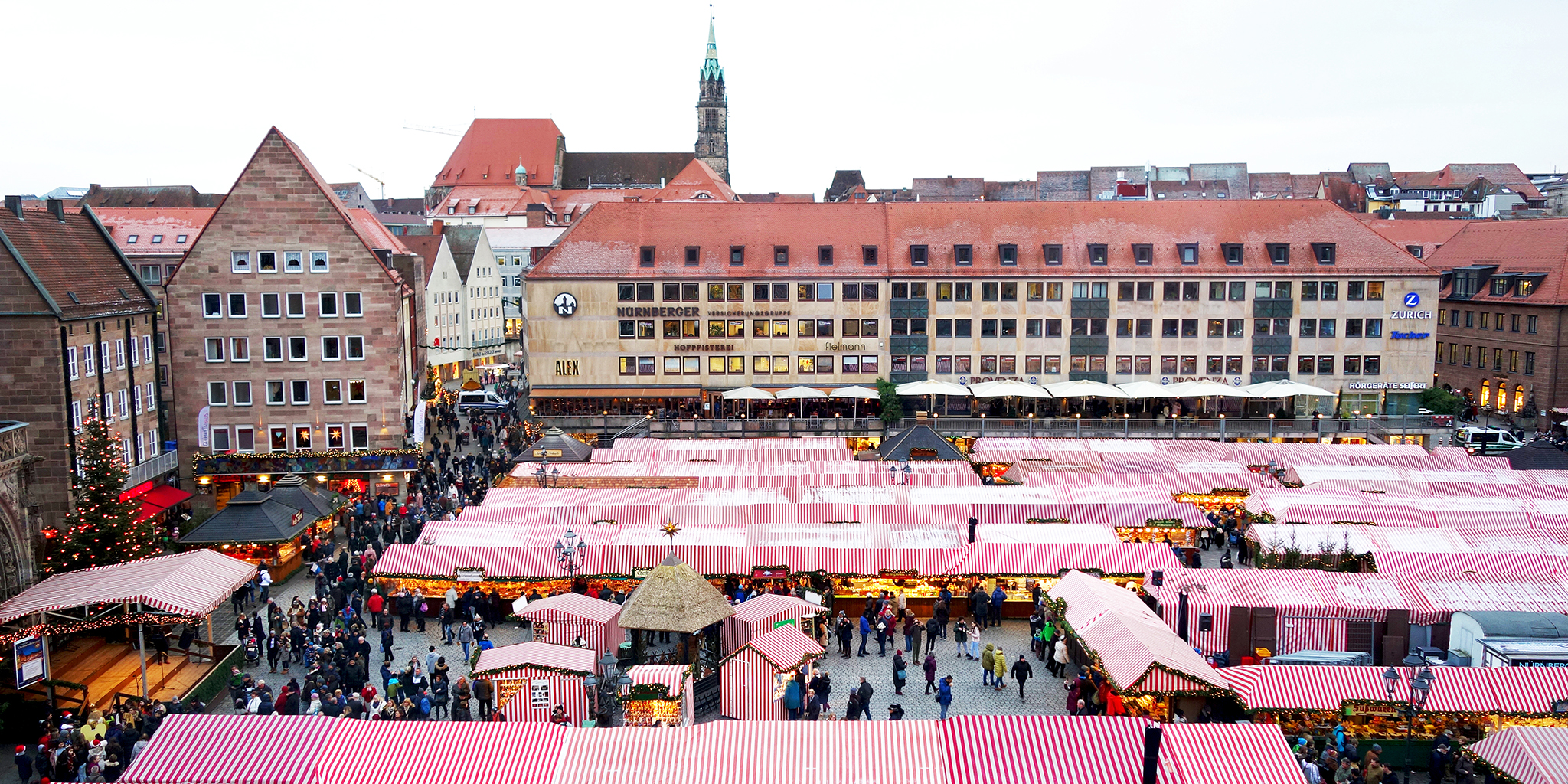 Nuremberg Christmas Market.The World Famous Christmas Market Of Nuremberg I Out Of The