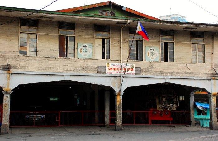 Old San Nicolas Fire Station