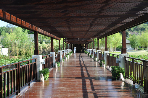 reception area @ Anvaya Cove