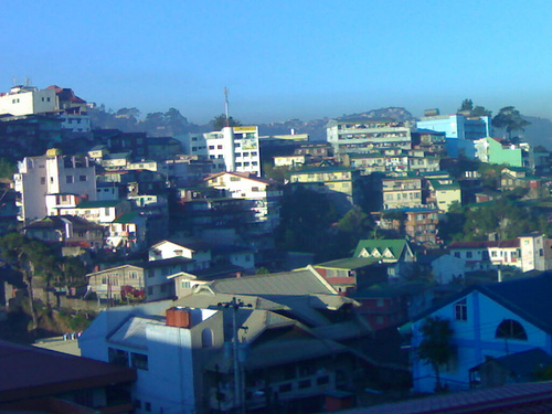 morning in baguio