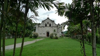 San Isidro Labrador Church from afar