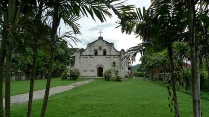 San Isidro Labrador Church from afar