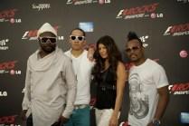 Black Eyed Peas in Singapore Grand Prix