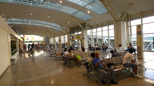 departure area