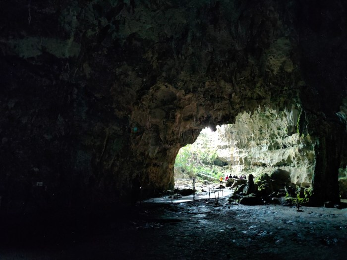 Inside Callao Cave in Penablanca Cagayan