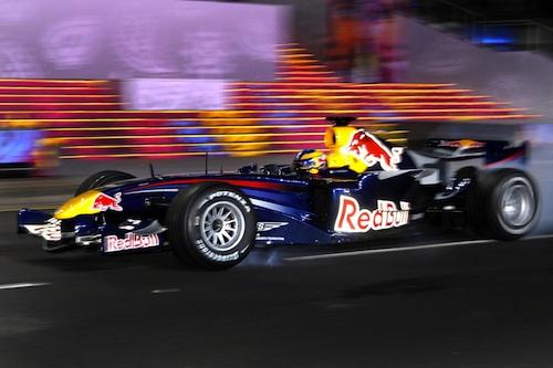 RedBull Car in Singapore Grand Prix