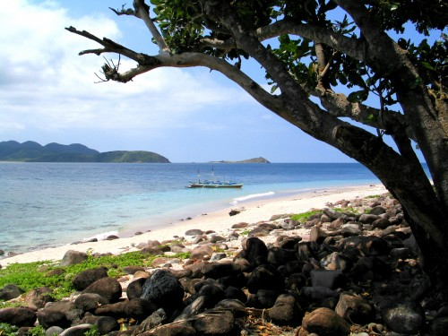 rocky pamuktan beach