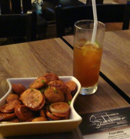 Sausage and Onions