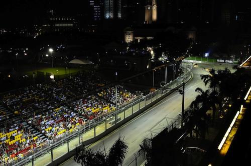 Worlds first F1 Night Race