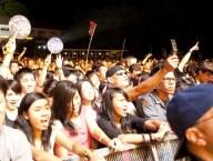Singapore F1 Race Crowd
