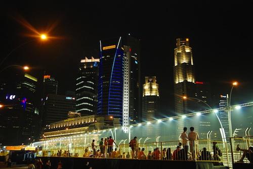 Singapore Formula One Race Fever
