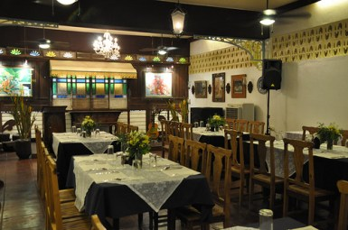 Sulyap Dining Area