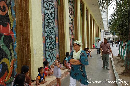 Golden Mosque in Quiapo Manila