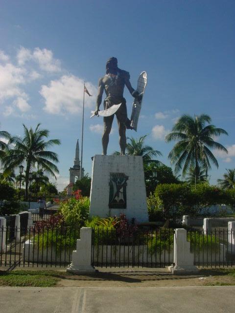 Lapu Lapu Monument in Mactan