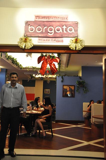 Italian Restaurant in Clarke Quay
