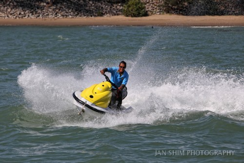 Jetskiing at the Marine Centre of The Empire Hotel and Country Club