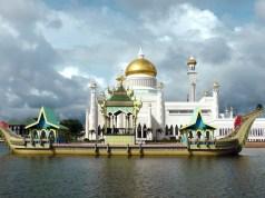 Mosque in Brunei - Visit Brunei